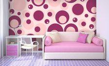 papier peint pour la chambre d 39 une petite fille demur. Black Bedroom Furniture Sets. Home Design Ideas